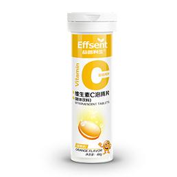 维生素C泡腾片(固体饮料)(甜橙味)